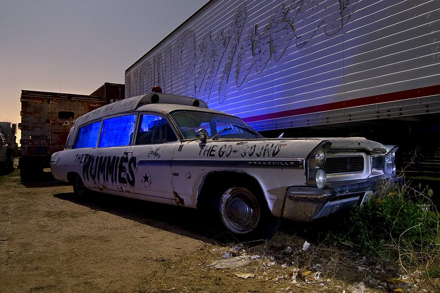 The Mummies Ambulance