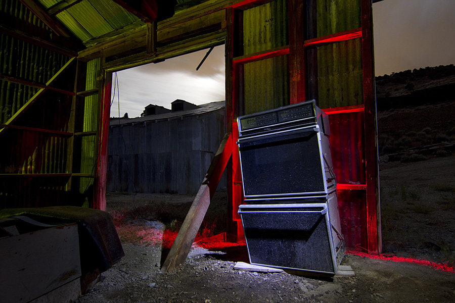 Dayton Mill Garages