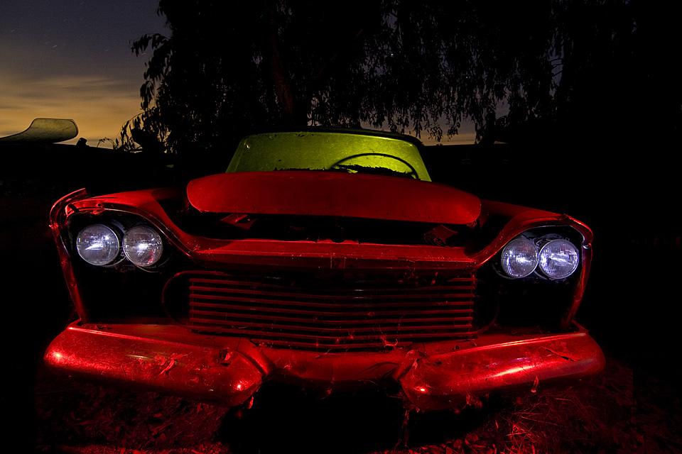 Hooded Eyes  :::::  1958 Chrysler