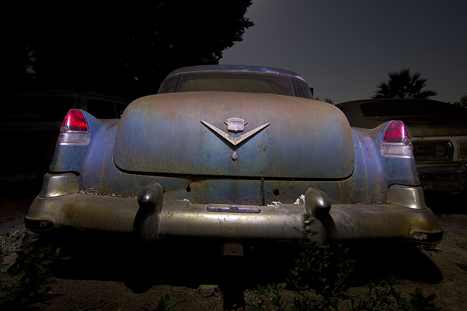 Moss Back  :::::  1953 Cadillac