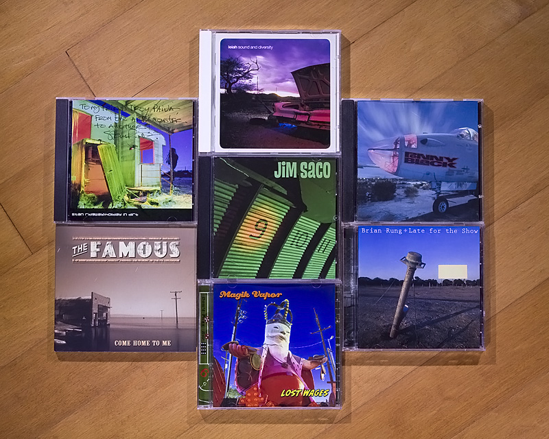 Various CD Cover Images