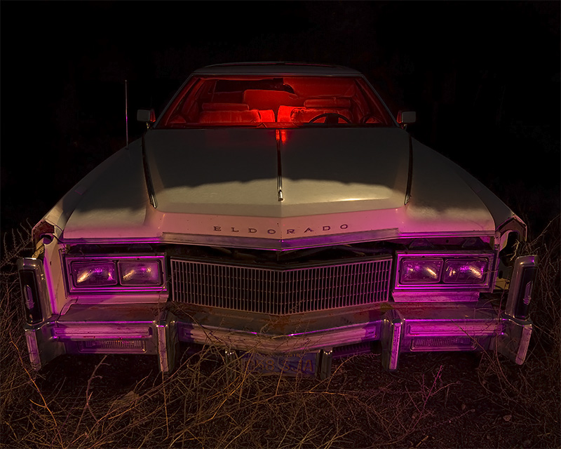 Crawling into the Moonlight  :::::  1977 Cadillac Eldorado Biarritz