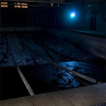 Diving in the Dark  :::::  The indoor Olympic-sized pool.