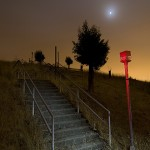 Stairs to Nowhere  :::::  This way out . . .