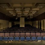 Lecturing Ghosts  :::::  From the stage of the basement lecture hall.