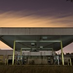 Motor Pool  :::::  The site also contained a large gas station and motor pool facility, all completely abandoned.
