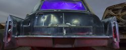 Bustleback  :::::  1966 Cadillac Hearse  :::::  February 2015