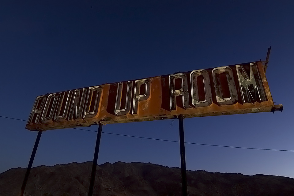 Round Up Room  :::::  2008  ::::::  Bottoms Collection, 29 Palms, California.