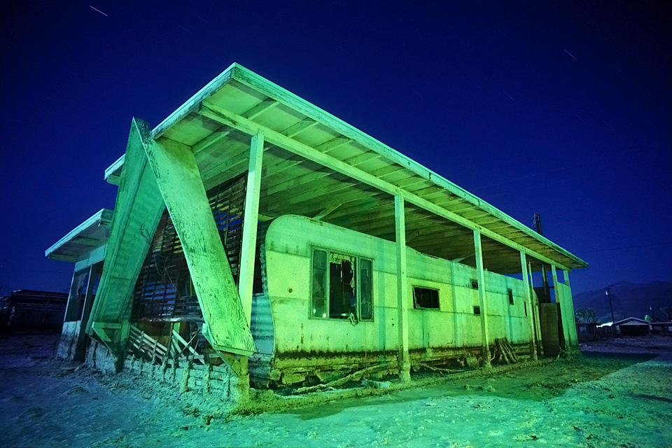 A-Frame :::::  1992  :::::  Salton Sea Beach.