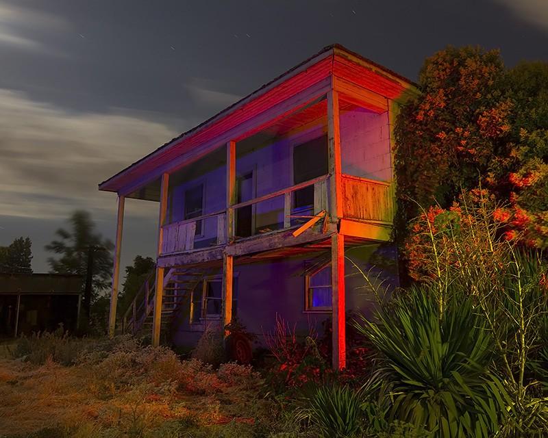 Bat Manor :::::  2014  :::::  Abandoned Farm, San Joaquin Valley