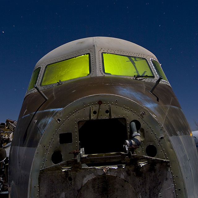 Patinateer  :::::  2009  :::::  Douglas DC-7.