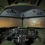 Flight to Jupiter  :::::  2014  :::::  Movie prop DC-3 cockpit.