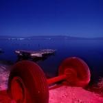 Axel :::::  1992  :::::  Salton Sea Beach.