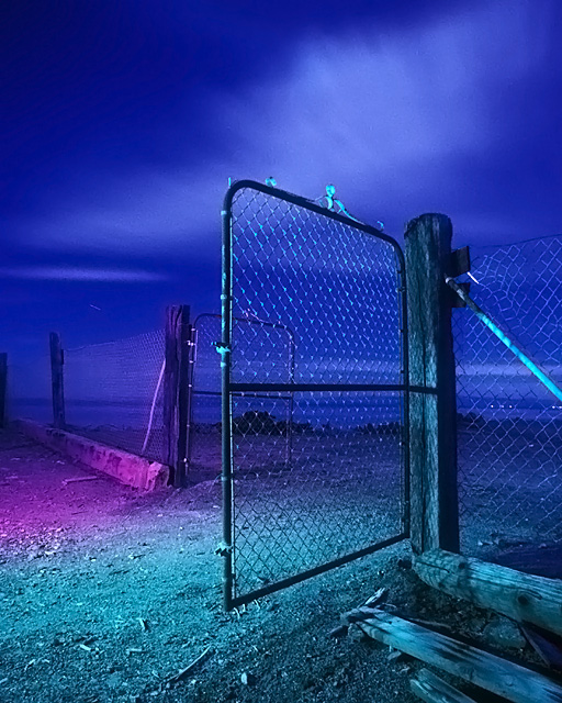 Gate To Nowhere :::::  1995  :::::  Bombay Beach.