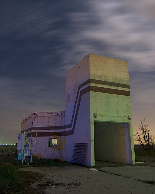 Engine Test Building  :::::  Far away from everything else.