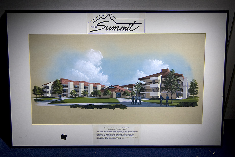 The Summit  :::::  Architectural rendering of one of the base dorm complexes, found in a storeroom.