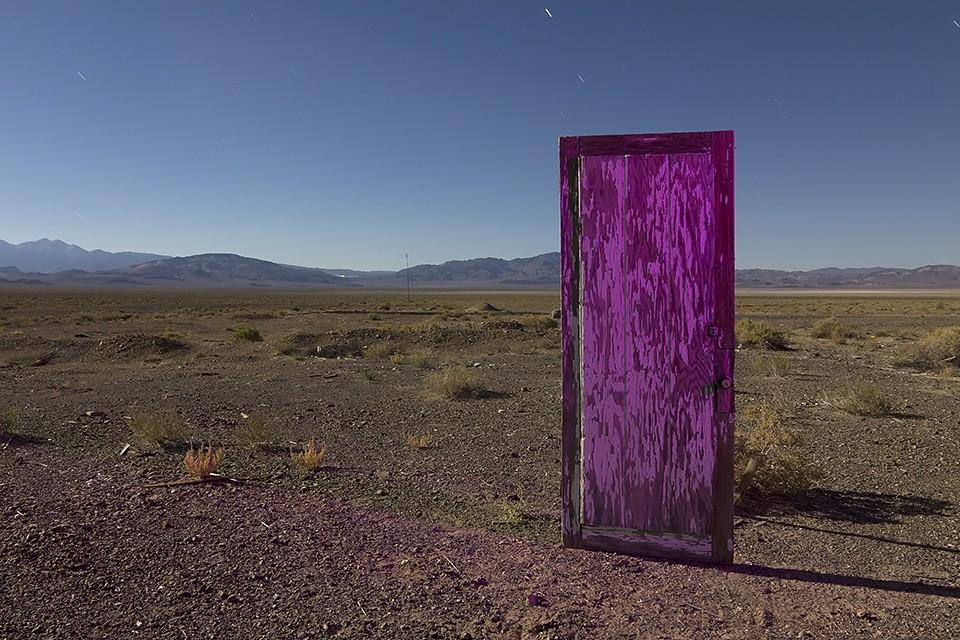Riki's Transdimensional Door :::::  2013  :::::  Coaldale, Nevada