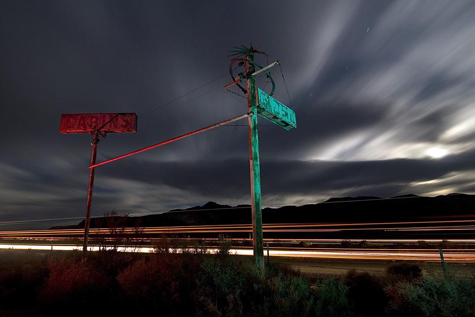 U.S. 395  :::::  2007  ::::::  Dunmovin', California.