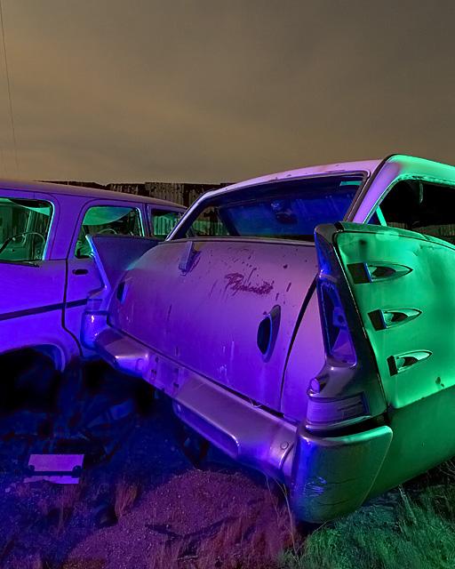 Exner's Nightmare  :::::  2006  :::::  1960 Plymouth Custom Suburban Station Wagon  :::::  Hodge, California