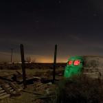 Two Posts  :::::  2006  :::::  Post-War Panel Truck  :::::  Hodge, California