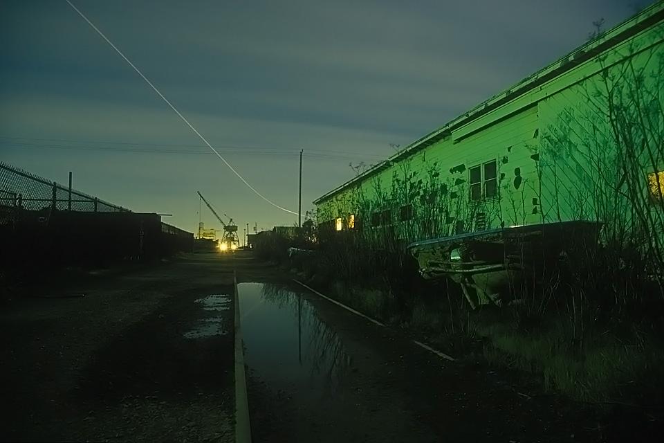 Hot Tub  :::::  Random debris in a forgotten alley.