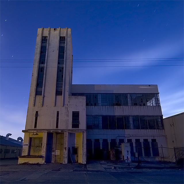 Not Radioactive  :::::  Building 351, the 1945 Naval Radiological Defense Laboratory offices.
