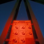 Standard Signals  :::::  Hand signal instructions on a gantry crane.