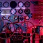 Dashboard  :::::  Engine Room control systems.