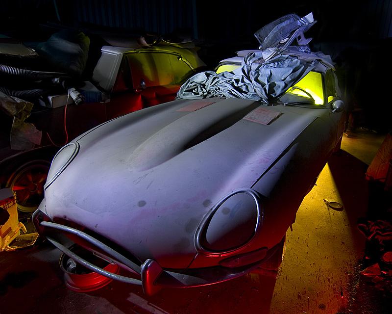 Dreams of the E-Type  :::::  2010  :::::  Series 1 Jaguar XKE  :::::  Jaguar Heaven, Stockton, California