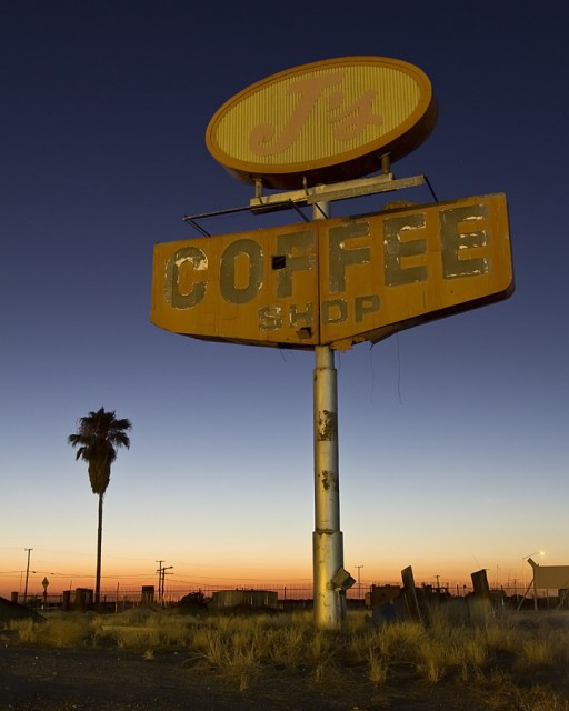 Coffee Sunset  :::::  2012  :::::  Delano, California