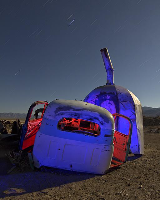 The Purple Pumpkin  :::::  2011  :::::  Mid-'50s Ford Truck  :::::  Kincaid, Nevada