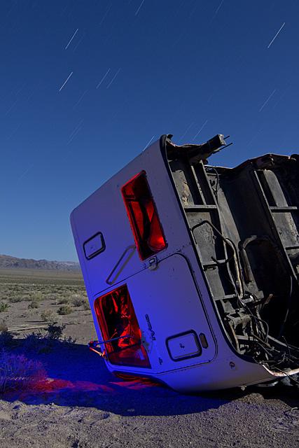 Cab-Over Faceplant  :::::  2011  :::::  Semi Cab  :::::  Kincaid, Nevada
