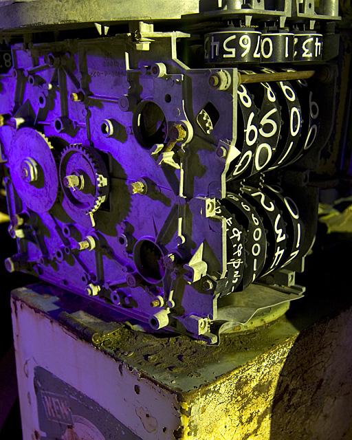 Purple Pump Guts  :::::  2006  :::::  Kramer Junction, California.