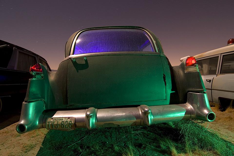 Hearse  :::::  2006  :::::  Mid-'50s Cadillac Hearse  :::::  Antelope Valley, California
