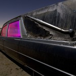 Landau Bar  :::::  2006  :::::  Mid-'60s Cadillac Hearse  :::::  Antelope Valley, California