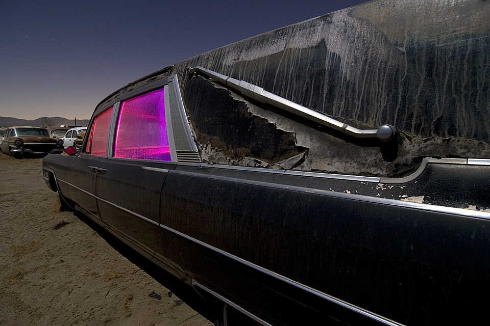 Landau Bar  :::::  2006  :::::  Mid-'60s Cadillac Hearse  :::::  Antelope Valley, California