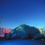 The Fat Man Sleeps  :::::  2002  ::::::  Film  :::::  Las Vegas Neon Museum.