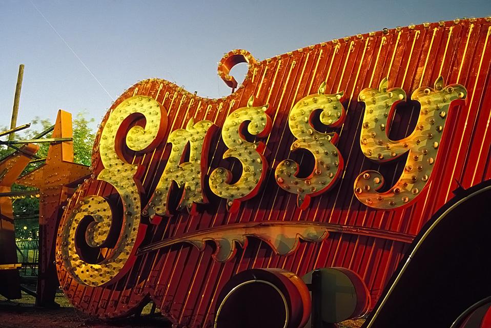 Sassy  :::::  2002  ::::::  Film  :::::  Las Vegas Neon Museum.