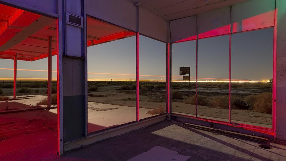 North Edwards Requiem  :::::  2014  :::::  Highway 58, California.