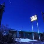 The Palms Motel :::::  2001  :::::  Abandoned since the late 1970s. Salton Sea Beach.