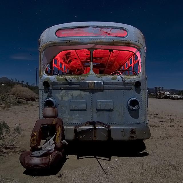 Bucket Express  :::::  1950s GM Bus
