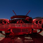 Christine Rabbit Ears  :::::  1958 Plymouth Suburban Wagon