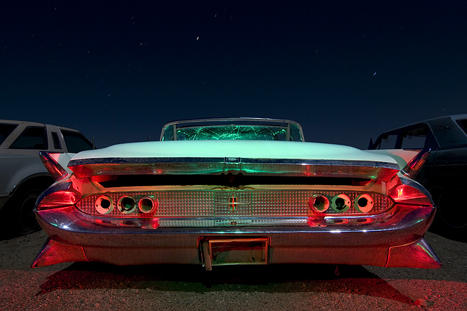 Shiny Spiky  :::::  1958 Lincoln Continental