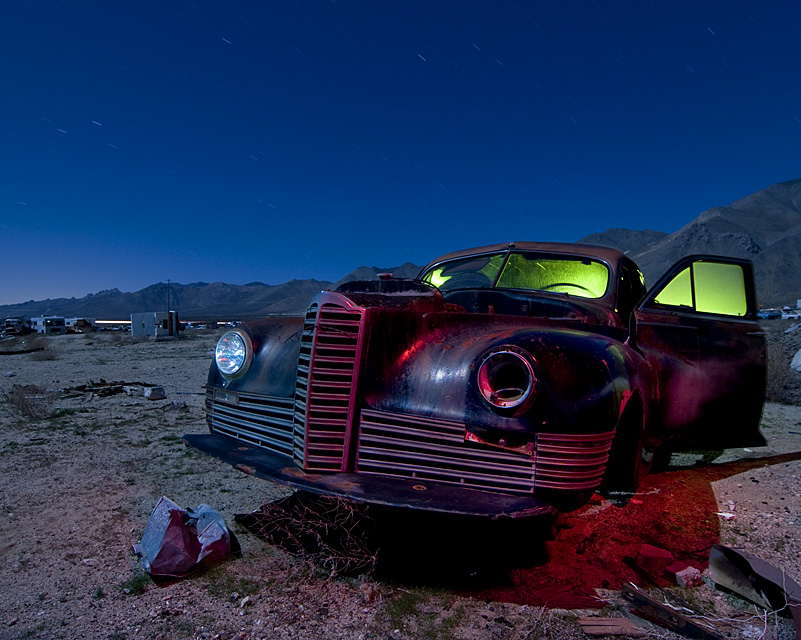 Waiting for Westergard  :::::  1941 Packard Clipper