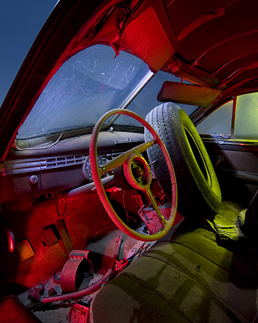 Crumbling Bakelite  :::::  1941 Packard Clipper