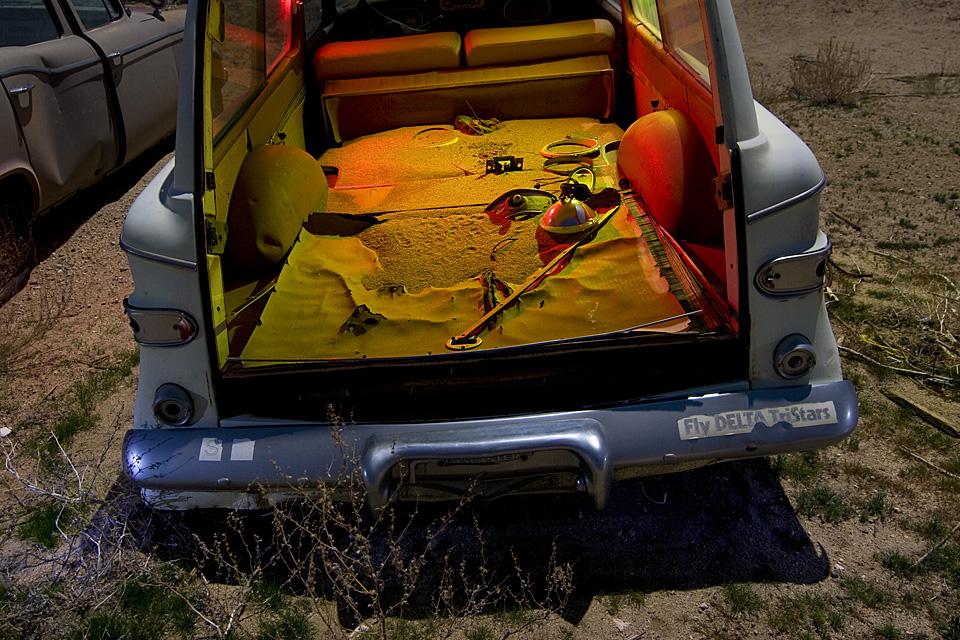 Fly Delta Tristars  :::::  1960 Studebaker Lark Wagon