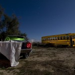 Ghost Dart  :::::  Early-'70s Dodge Dart and School Bus