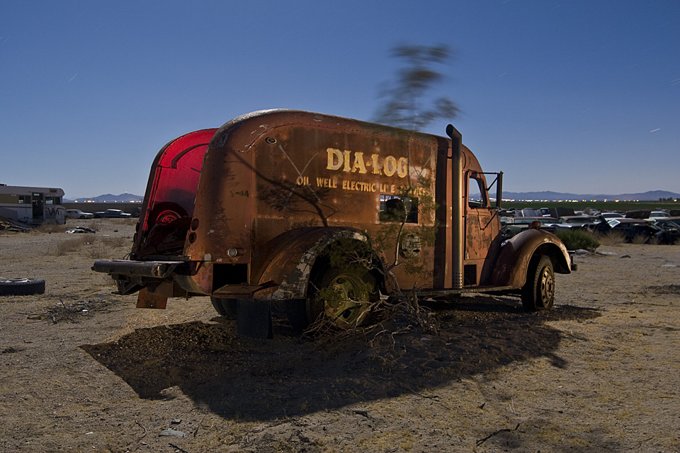 The Talking Tree  :::::  Post-War International Truck