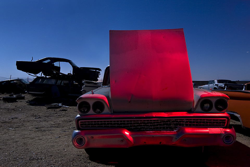 The Backwards Hood  :::::  1959 Ford