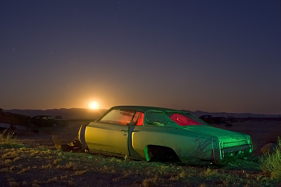 Monte Carlo Moonrise  :::::  1972 Chevy Monte Carlo
